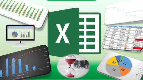 [Udemy Coupon] Aprende Excel y Optimiza tu Tiempo