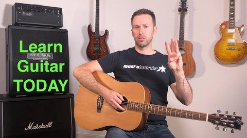 [Udemy Coupon] Learn Guitar TODAY, the easy way.