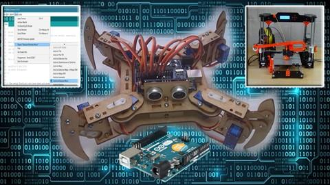 Netcurso-arduino-e-impresion-3d-construye-tu-propio-robot