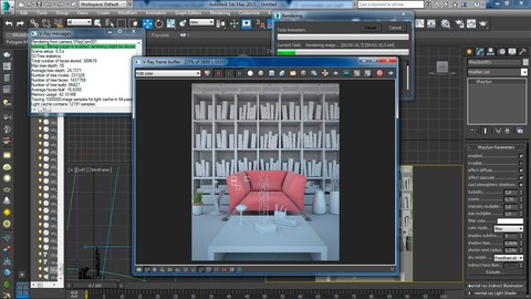 [Udemy Coupon] 3Ds Max para Arquitetura, Maquete eletrônica e Cenografia