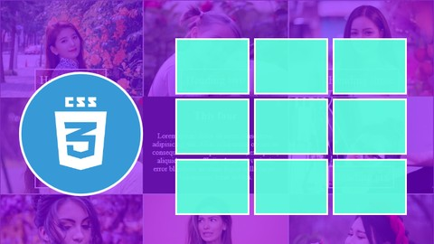 [Udemy Coupon] Create Interactive Portfolio Grid using CSS and HTML