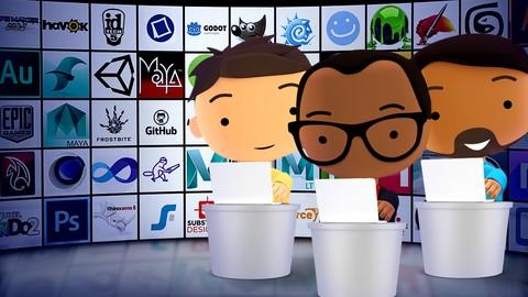 How to become a Game Artist, Designer, or Developer!*