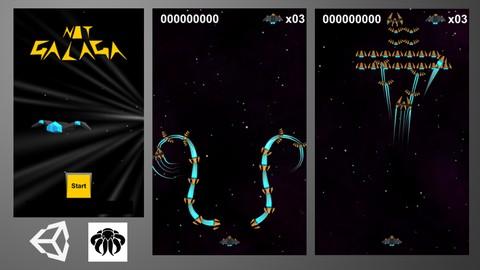 Unity Game Tutorial: Galaga 3D