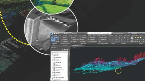Recap & Regard3D - Modelo Digital de Terreno