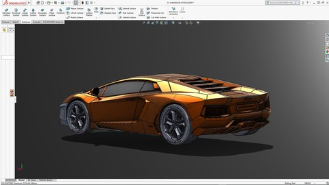 SolidWorks 2018 Surface Design and Analysis