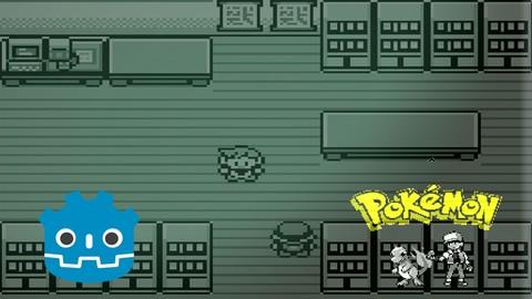 Netcurso-creando-juegos-en-godot-3-pokemon-red-capitulo-2