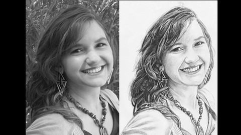 [Udemy Coupon] Draw a Realistic Pencil Portrait from a Photograph