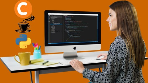 [Udemy Coupon] C, Java & Python crash course for absolute beginners in 2019