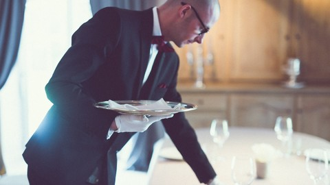 [Udemy Coupon] How to become a professional waiter