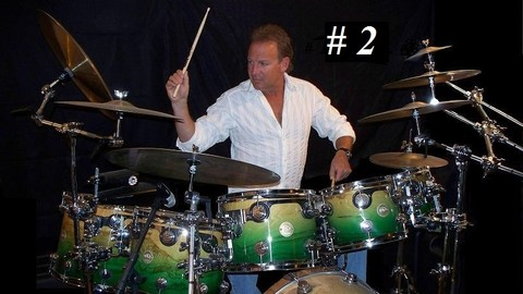 [Udemy Coupon] Beginning Drum Lessons with ULTIMATE DRUMMING 8th Fills #2