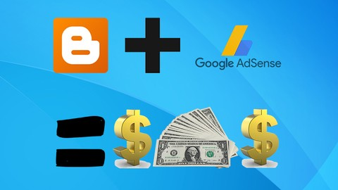 [Udemy Coupon] Passive income: Blogging with blogger and Adsense autopilot