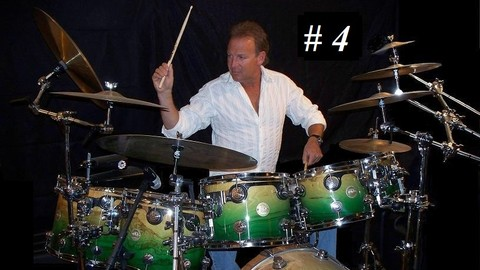 [Udemy Coupon] Drum Lessons with ULTIMATE DRUMMING Intermediate R&R #4