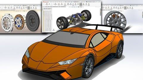 [Udemy Coupon] SolidWorks 2019: Automobile System Design, Deep learning A-Z