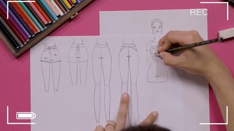Sale: Udemy : Curso de Desenho de Moda com Apoio do SEBRAE e SENAI Cetiqt
