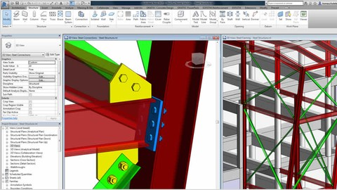 #BIM - Advance Steel Design