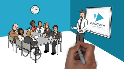 [Udemy Coupon] VideoScribe: Whiteboard Animation From Zero To Hero