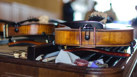 [Udemy Coupon] VIOLIN: how to choose one, gear it up, care and maintenance