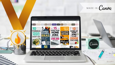 Canva Course 2019 | To Create Professional Pinterest Pins