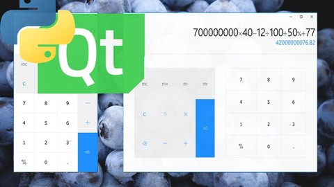 [Udemy Coupon] Python GUI | Build a Beautiful Calculator with PyQt and Qml