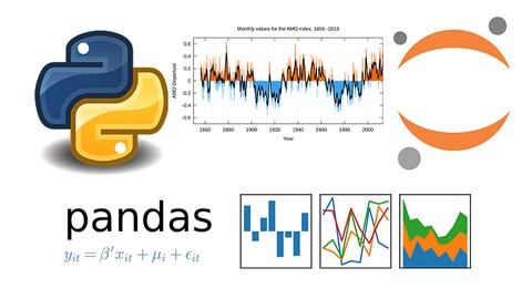 [Udemy Coupon] Python 3 Data Science – Time Series with Pandas