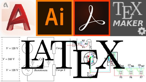 [Udemy Coupon] Documentos en LaTeX con AutoCAD, Adobe Acrobat e Illustrator