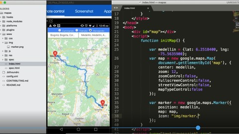 #GIS - Geolocation with HTML5 and Google Maps in mobile Apps