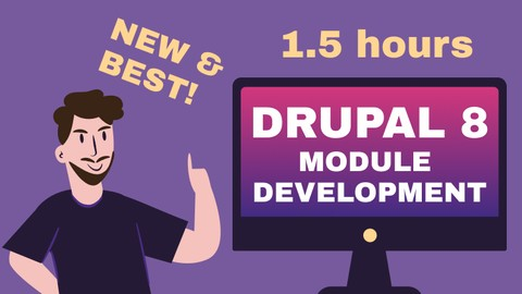Drupal 8 module development + useful tips