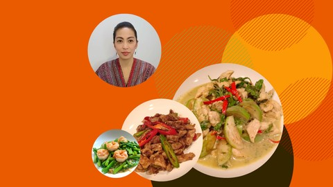 Free udemy course 46 Best Thai Food Easy Recipe Thai Kitchen Eat Like Thai