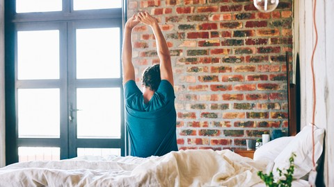 [Udemy Coupon] Stretch & Tone: Morning Stay-In-Bed Stretch Routine