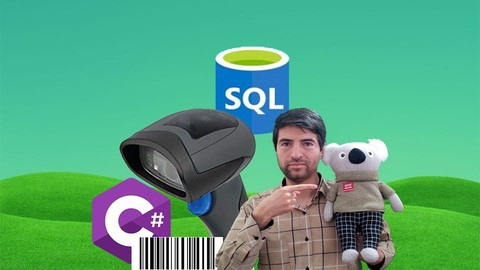 [Udemy Coupon] Using Barcode Scanner in C# and SQL, SQL Server Database