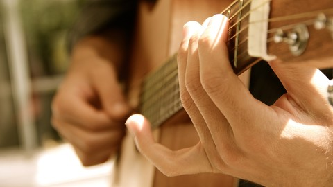 [Udemy Coupon] Progressive Fingerstyle Guitar- Learn By Playing Songs