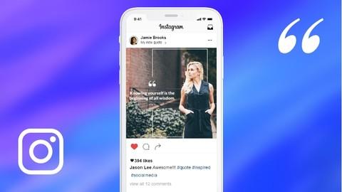 Create Instagram Quotes In Photoshop