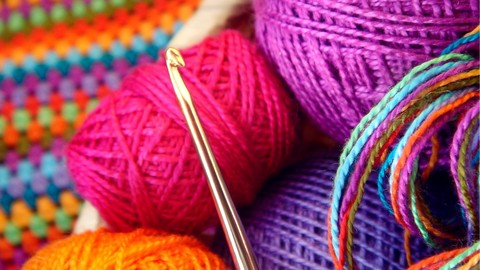 [Udemy Coupon] Crochet beginners course learn basic stitches step by step