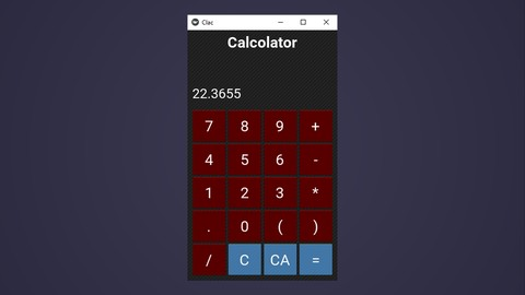 [Udemy Coupon] Build amazing Calculator with kivy apps and other projects