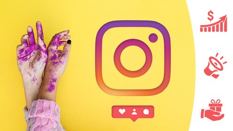 [Udemy Coupon] Advanced Instagram Marketing Course : 4 Courses in 1