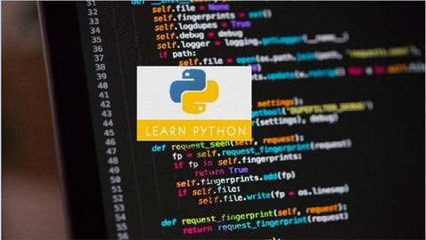 [Udemy Coupon] Python 3.7 Bootcamp  Beginner to Intermediate level   A to Z