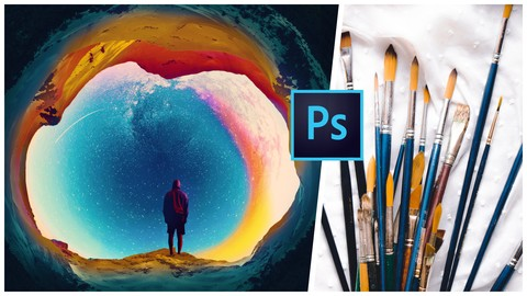 [Udemy Coupon] Photoshop Brushes & Digital Painting basics & essentials