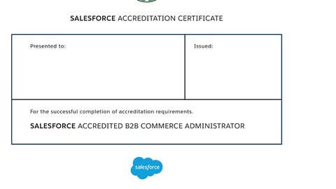 [Udemy Coupon] Salesforce Accredited B2B Commerce Administrator sample exam