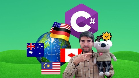[Udemy Coupon] Learn C# Series: Create Multi language Apps in C#