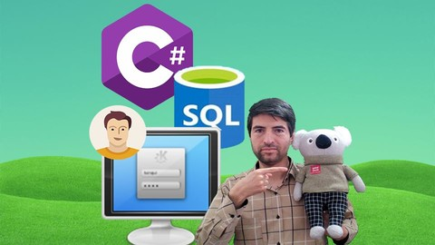 [Udemy Coupon] SQL in C# Series: Multi User App by Login Form in C# & SQL