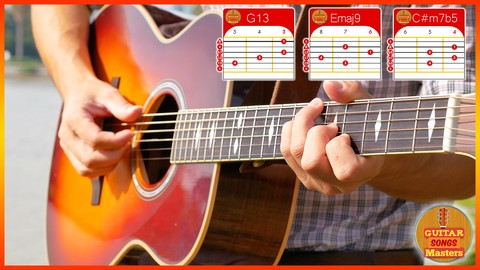 [Udemy Coupon] Master The 21 Sexiest, Jazziest Chord Shapes (Guitar)