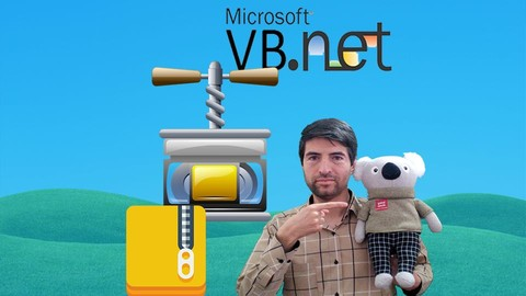 [100% Off] Zip File in VB.Net- Create Backup & Restore Form in VB.Net Udemy Coupon