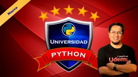 Free udemy course - Universidad Python: Desde las bases para principiantes