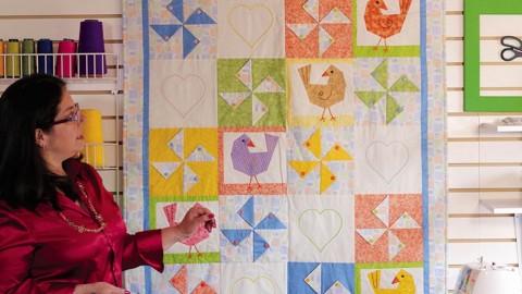 Netcurso - //netcurso.net/crea-un-quilt-para-bebe-en-patchwork