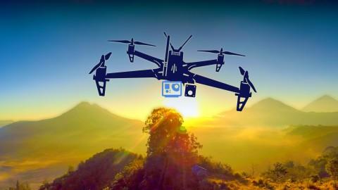 Bideojoko ikusgarria eta argazkigintza Drones erabiltzea