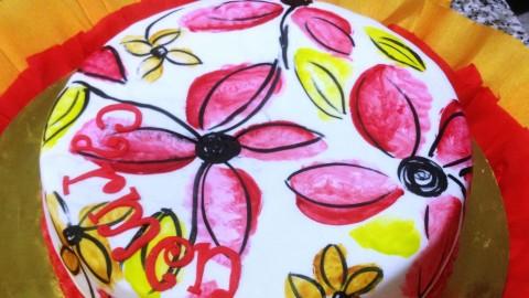 Netcurso - //netcurso.net/acuarela-sobre-fondant-tartas-galletas-cupcakes