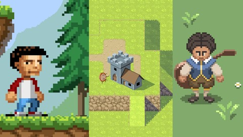 Pixel Art Fundamentals: Create Pixel Art for Games | Onli...