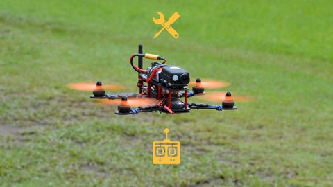 Drones: Step by step to build and fly a racing quadcopter.