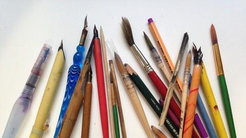 Netcurso-mas-de-40-tecnicas-de-arte-y-creatividad-dibujo-y-pintura