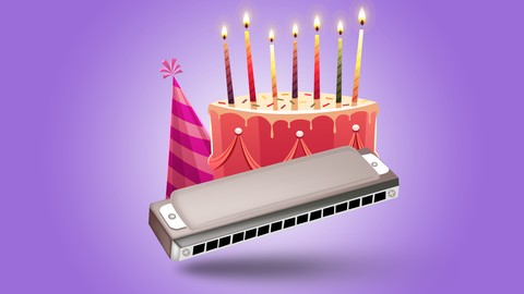Instant Harmonica - play Happy Birthday; serenade your mates